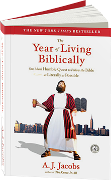 The Year Of Living Biblically Aj Jacobs Official Website Aj